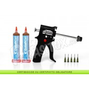 Goliath gel 35g lot de 2 et son Pistolet Applicateur - Gel anti cafard et blatte