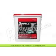Appât Anti Souris et Rats en Bloc Sorexa Difenacoum 5kg