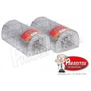 Anti Rats Nasse 40cm lot de 2
